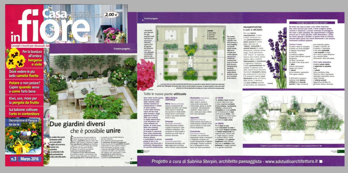 Casa in fiore – Due giardini diversi che è possibile unire